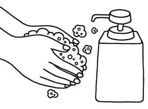 soap coloring washing coloring pages bestofcoloring