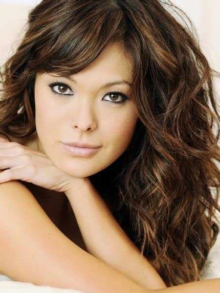 stylish curly hairstyles  bangs  hairstyles