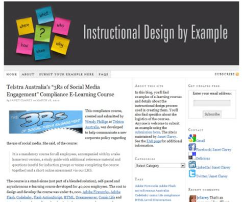 instructional design expert instructional design exles and sle elearning learning