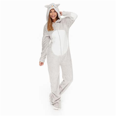 schlaf jumpsuit yes or no onesie hellgrau kaufen manor