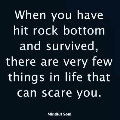 Hits Rock Bottom by 25 Best Rock Bottom Quotes On Rock Bottom