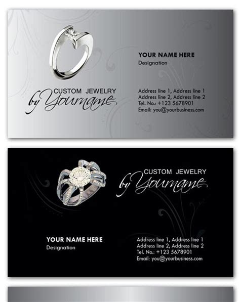 jewelry business card psd template vdshare psd business card psd templates