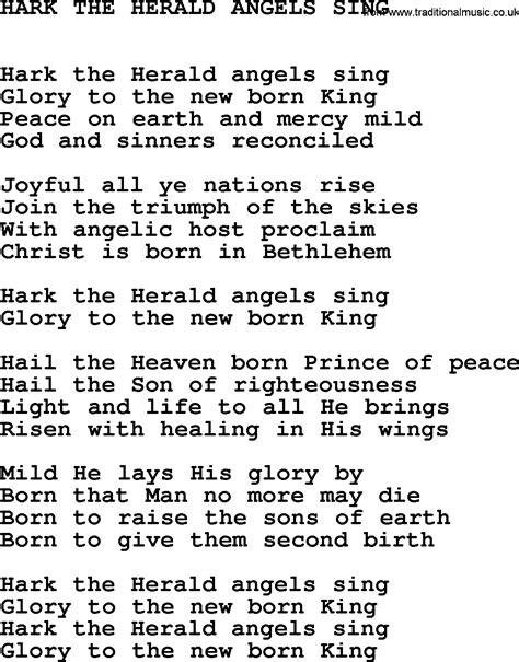 hark the herald sing testo johnny song hark the herald sing lyrics