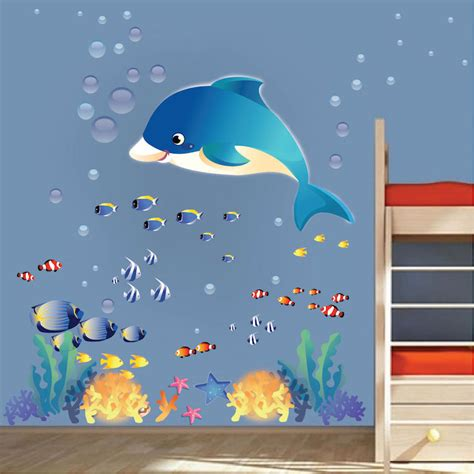 the sea wall stickers the sea wall murals peenmedia