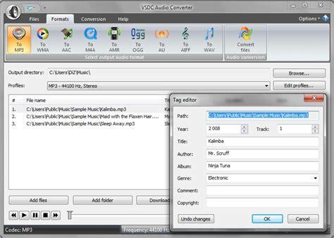best free audio converter vsdc free audio converter best tool for converting audio