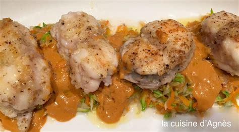 cuisine de la lotte m 233 daillons de lotte 224 la bisque de homard blogs de cuisine