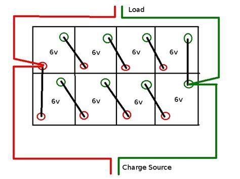 48 volt battery bank diagram 48 free engine image for