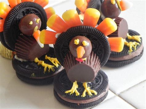 como decorar un pavo para thanksgiving galletas en forma de pavo turkey cookies