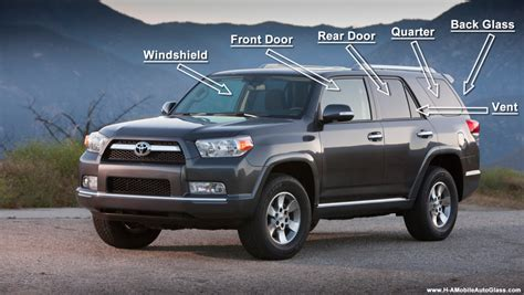 Types Of Toyota Suvs Auto Glass Question What Are The Different Types Of Auto