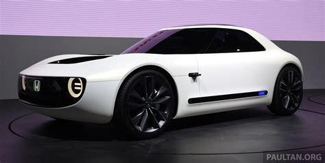 ev car news tokyo 2017 honda sports ev concept breaks cover