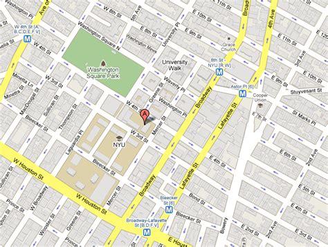 nyu map map for nyu