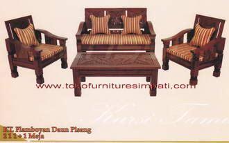 Kursi Bagong Kawung kursi bangku jati ukiran murah minamlis kayu