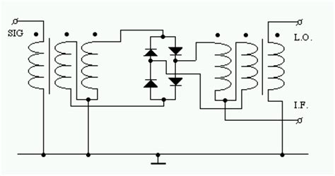 single diode mixer single balanced diode mixer 28 images balanced diode mixer circuit wiring diagram free