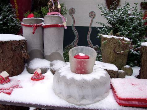 Gartendeko Weihnachten by Adventsdekoration Meriseimorion