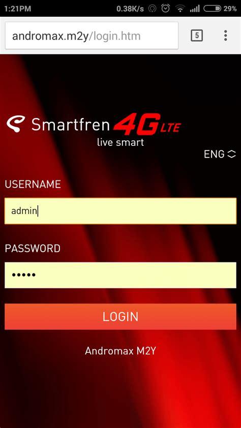 Bat Logon Andromax Modem M2p cara cek kuota dan sisa pulsa smartfren andromax m2y m2p