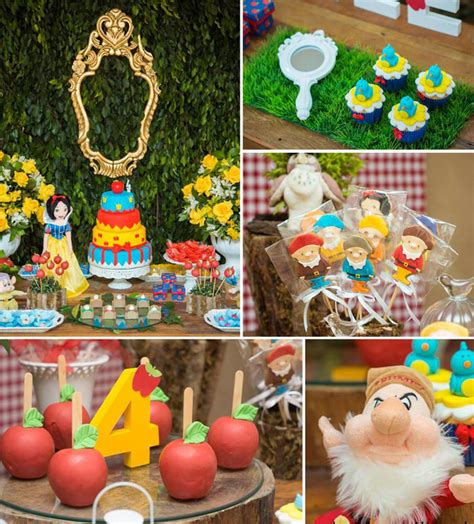 Snow Themed Decorations by Kara S Ideas Snow White And The Seven Dwarfs Themed