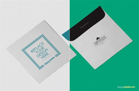 Business Card Template Psd Isometric by Free Envelope Mockup Psd Zippypixels