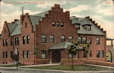 Muscatine Post Office by Hershey Hospital Muscatine Ia