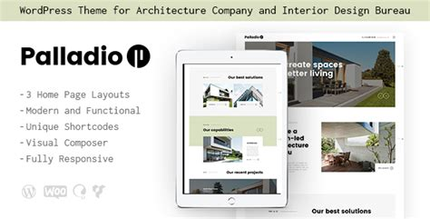 themeforest interior design themeforest palladio interior design architecture theme