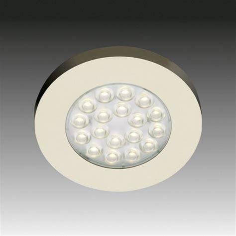 hera cabinet lighting hera lighting er led cool white spotlight stainless steel