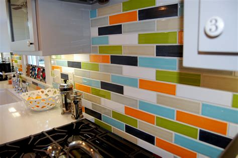 multi colored subway tile backsplash ceramic 2 quot x8 quot subway tile modwalls tile