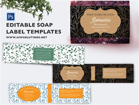 Soap Sler Card Template by Soap Label Template Id49 Aiwsolutions