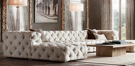 restoration hardware tufted sofa 10 awesome sectional sofas decoholic