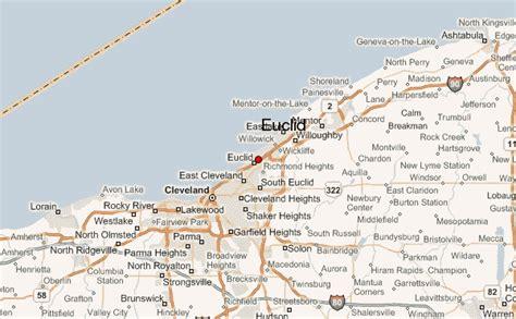 map of euclid ohio euclid location guide