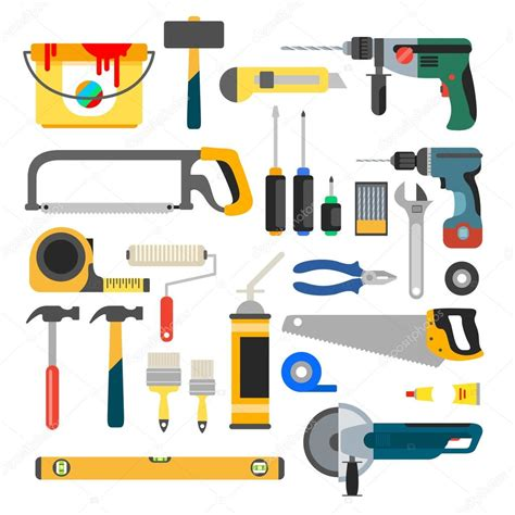 home repair tools icons stock vector 169 alejik 100759456