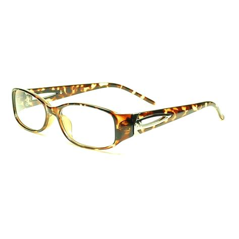 designer womens eyeglasses frames rx able spectacles black