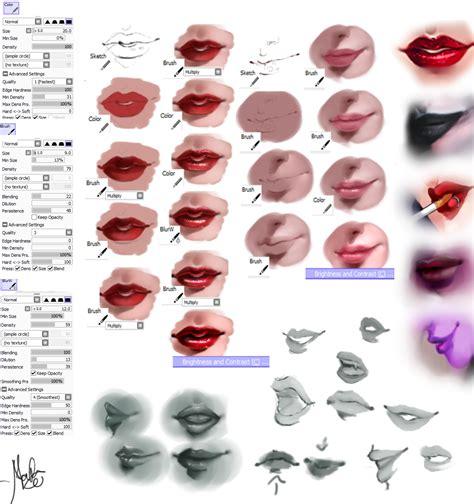 watercolor lips tutorial lips tutorial by marcelafreire on deviantart