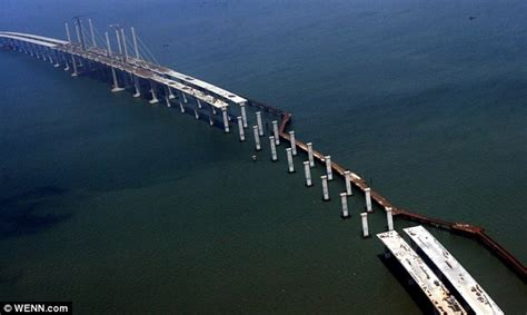 qingdao haiwan bridge facts around us qingdao haiwan bridge china world s