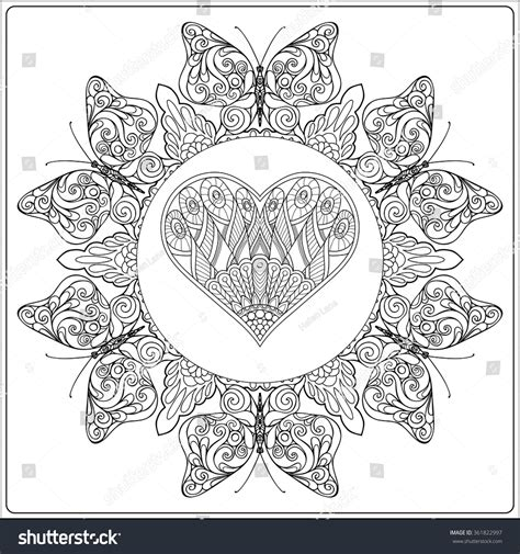 printable mandala coloring pages doodle art printable