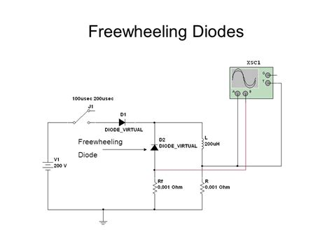 freewheel diode freewheeling diode image 28 images technical freewheeling diode working principle