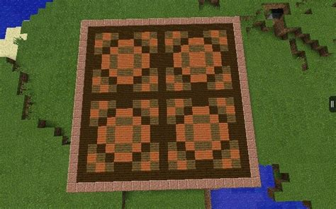 Minecraft Floor by Floor Design I Made With Planks From The 0 9 0 Update