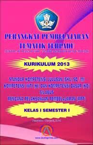 Buku Tematik Gabungan Semester 1 Kls 4 Sd dak bkkbn ape dak sd smp sma smk produsen alat