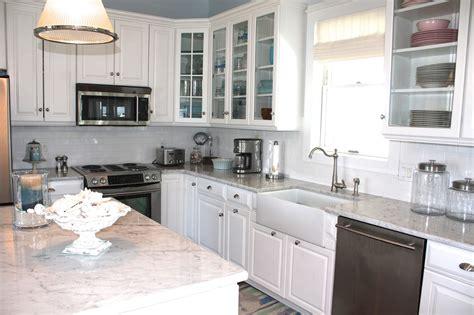 sea glass cottage cottage kitchen