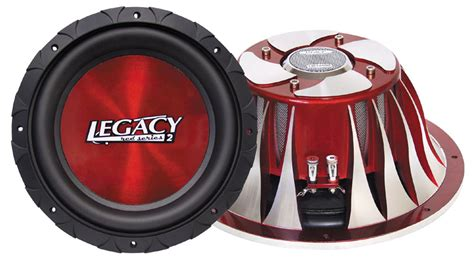 Speaker Legacy 18 Inch legacy car audio lw12590 12 2000 watt dvc legacy series subwoofer lw12590