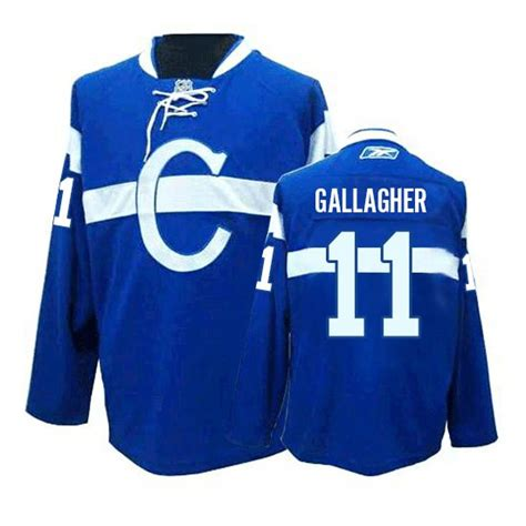 youth home premier blue roy williams 11 jersey like p 920 youth reebok montreal canadiens 11 brendan gallagher third