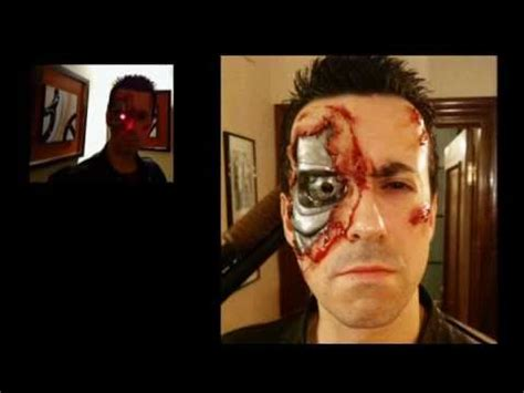 tutorial makeup terminator terminator costume 1984 version makeup fx youtube