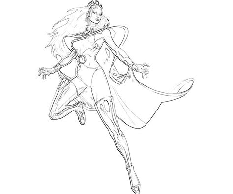 marvel storm coloring pages marvel ultimate alliance 2 storm superhero mario