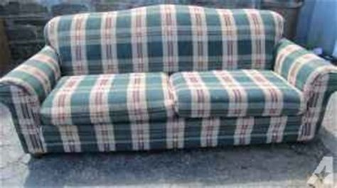 plaid couch for sale nice plaid sofa johnson city for sale in binghamton