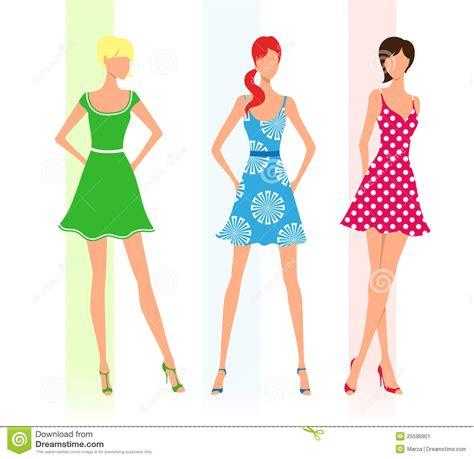 Gindara Dress fashion stock image image 25596901