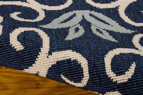 Navy Blue And White Area Rugs Sea Knotty Navy Blue Area