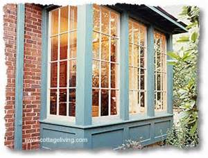 Anderson Box Bay Window - bump out additions small spaces big impact