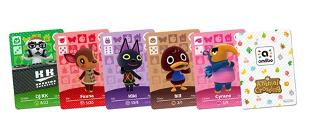 happy home designer board game animal crossing amiibo cards lists information animal