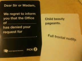 these 20 cards against humanity matches are a little too