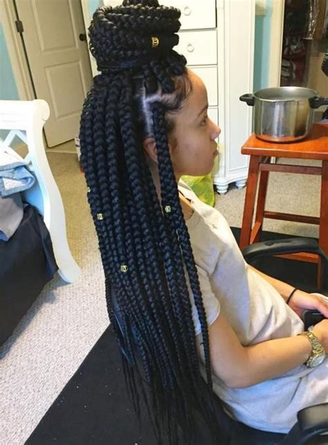 back to school hairstyles with box braids black girls hairstyles and haircuts 40 cool ideas for