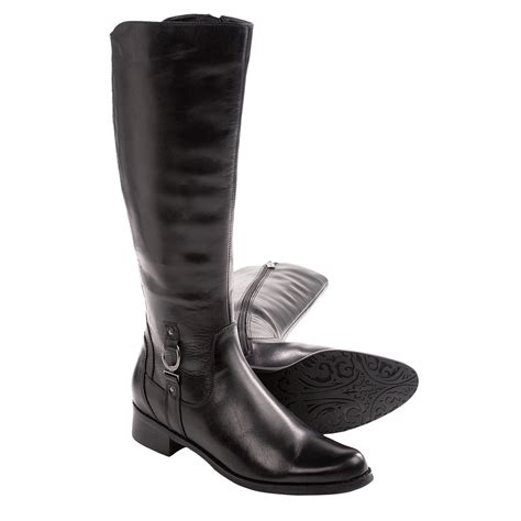 blondo boots womens blondo vallera zip boots leather for in black