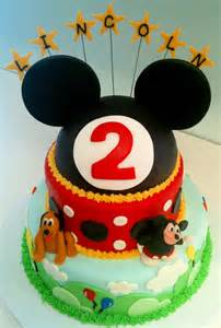 mickey mouse kuchen megmade cakes lincoln s mickey mouse cake